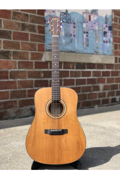 Recording King RD-T16 Torrefied Adirondack Spruce Solid Top Dreadnought