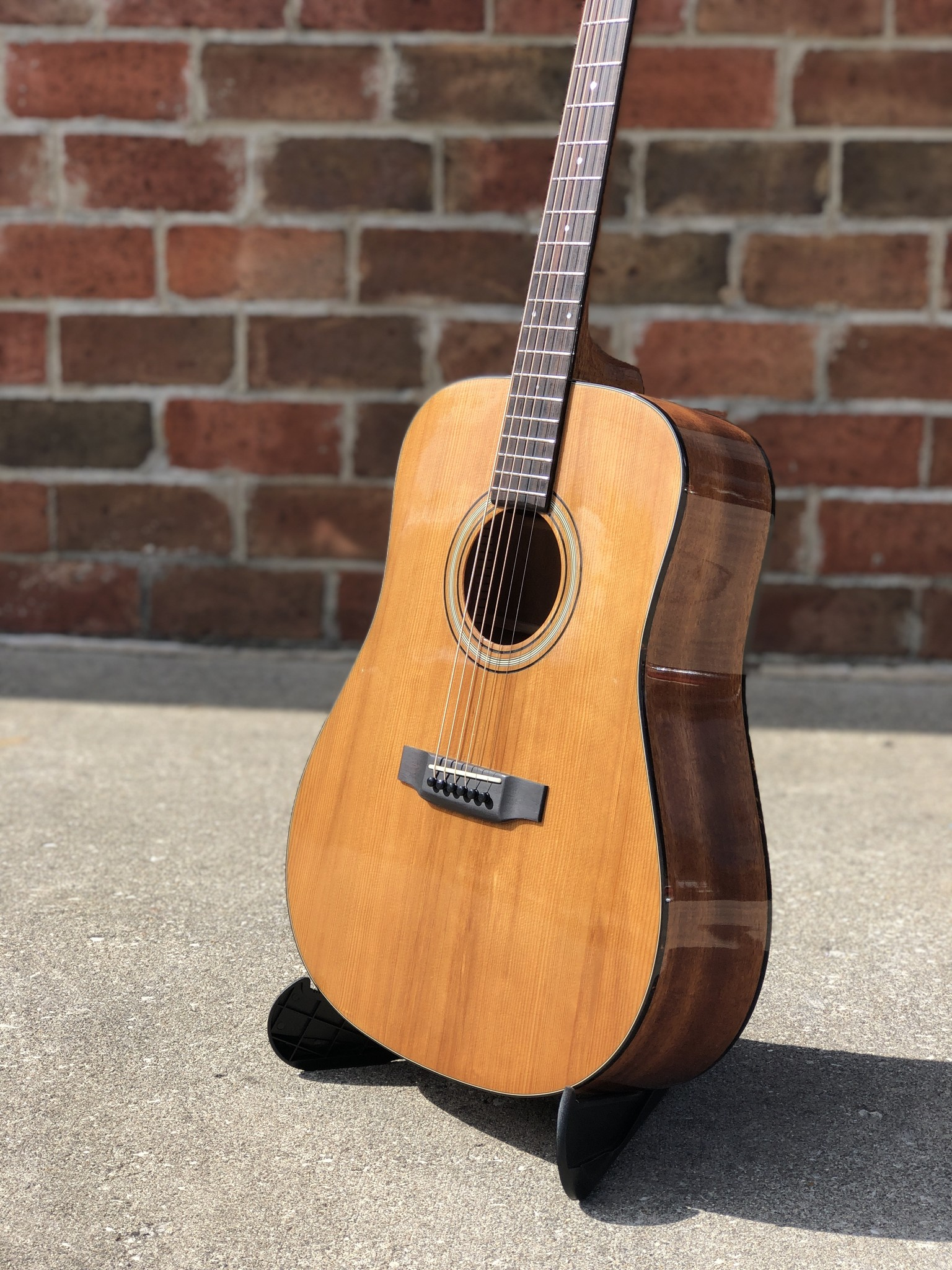 Recording King RD-T16 Torrefied Adirondack Spruce Solid Top Dreadnought-3