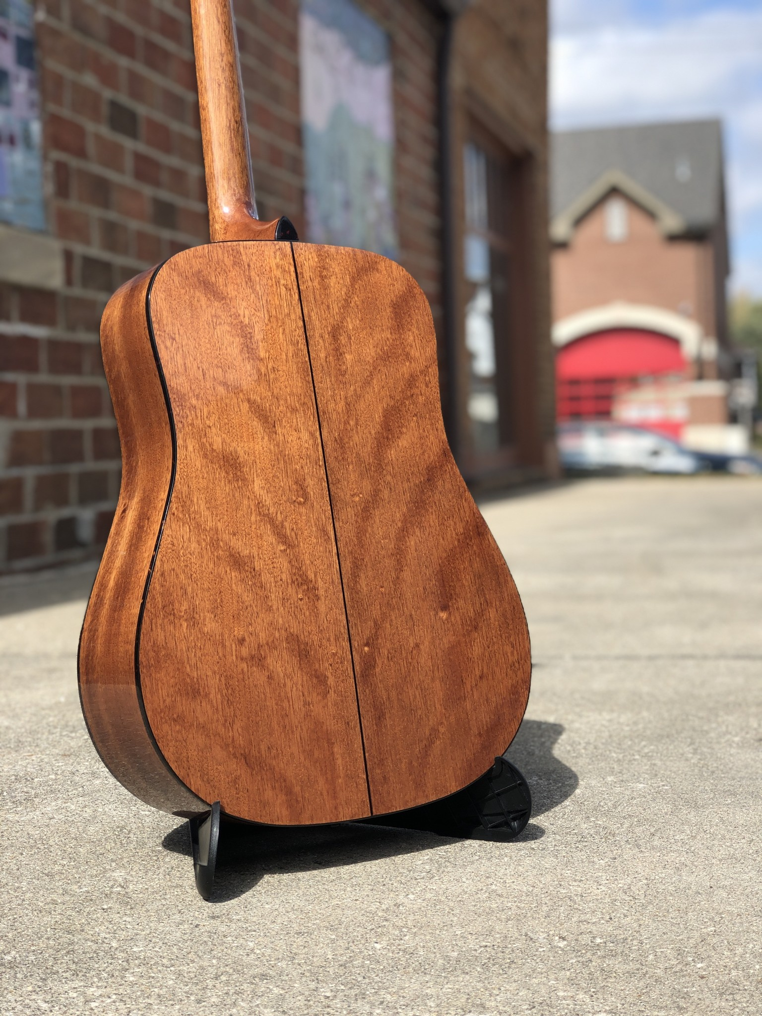 Recording King RD-T16 Torrefied Adirondack Spruce Solid Top Dreadnought-8
