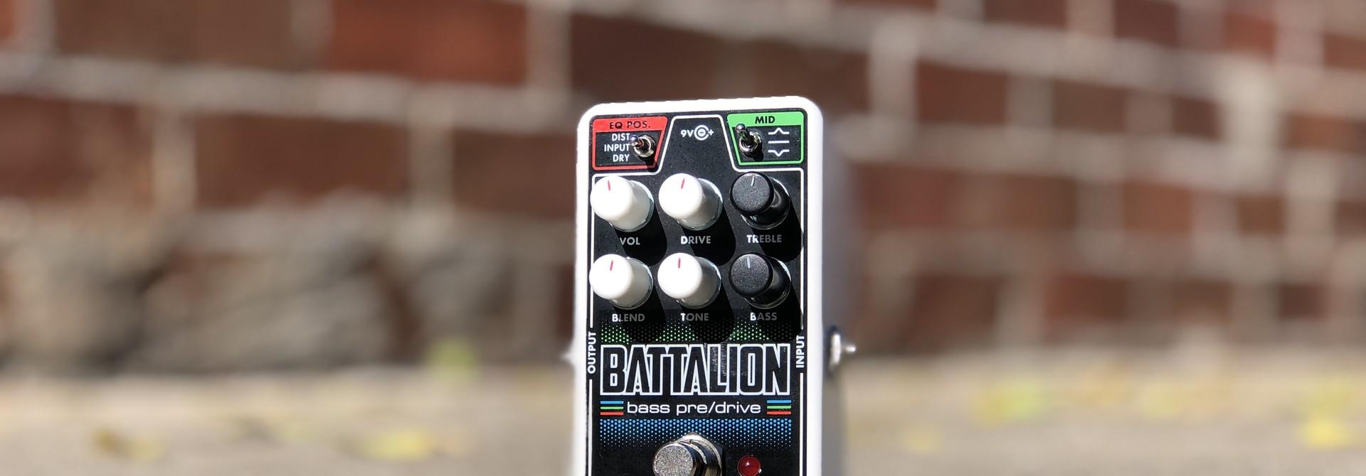 EHX Nano Battalion - Bass Preamp and overdrive