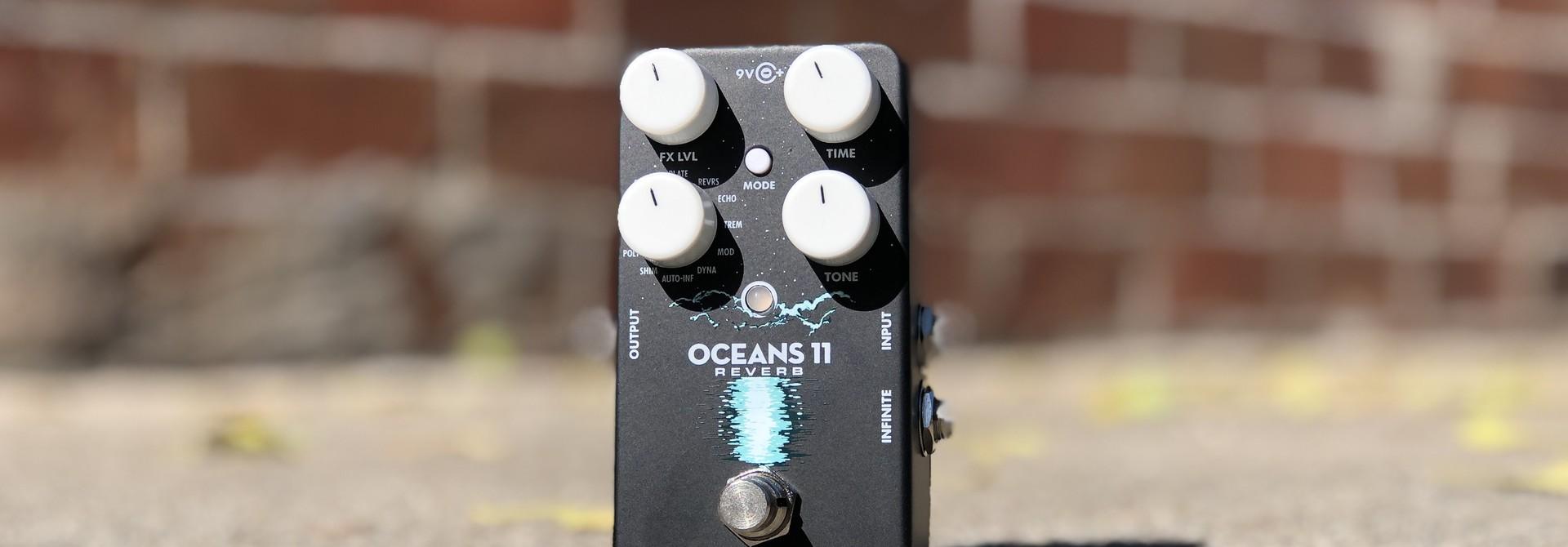 EHX Oceans 11 Reverb