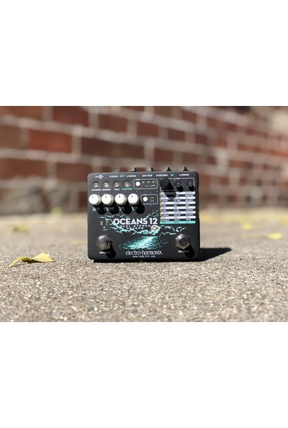 EHX Oceans 12 - Dual Stereo Reverb