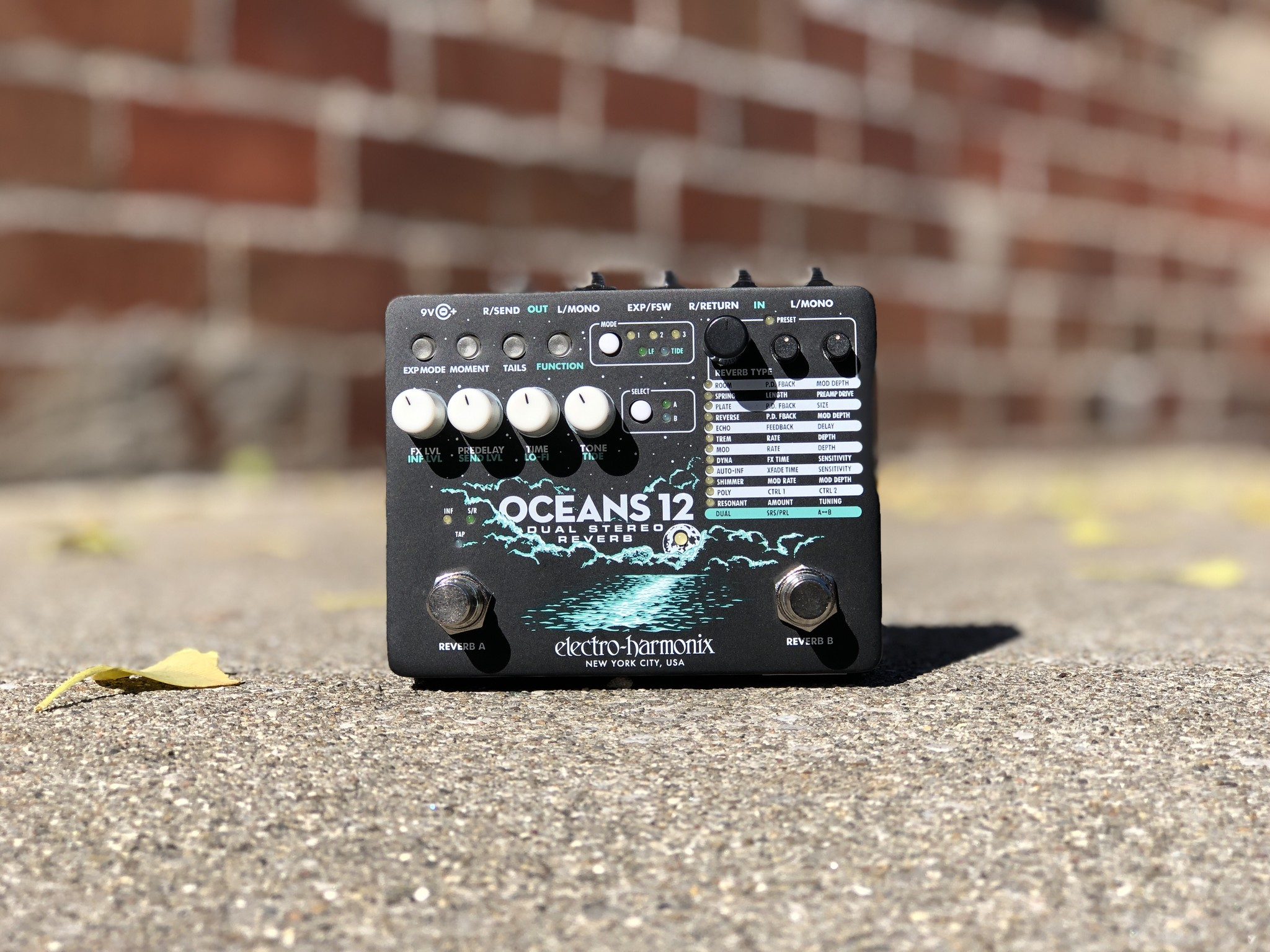 EHX Oceans 12 - Dual Stereo Reverb-1