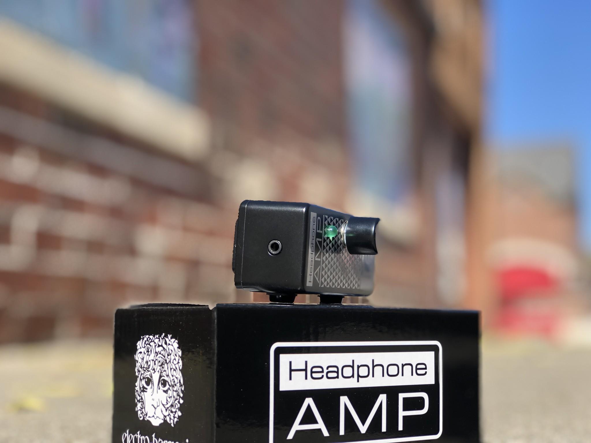 EHX Headphone Amp-4
