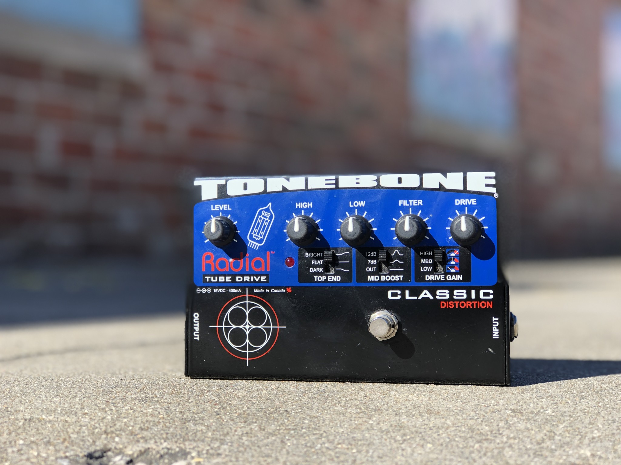 Radial Tonebone  Tube Drive Classic Distortion-1