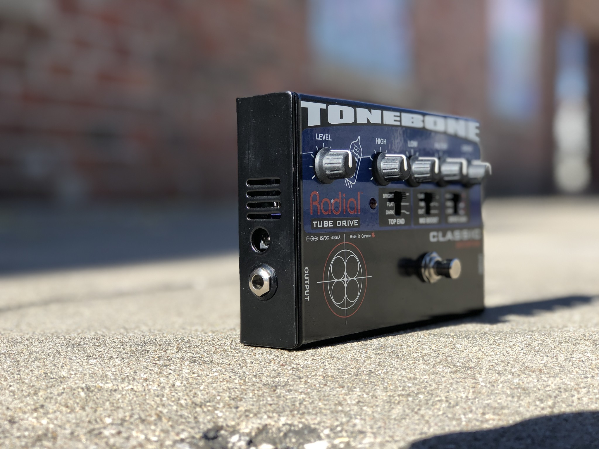 Radial Tonebone  Tube Drive Classic Distortion-3