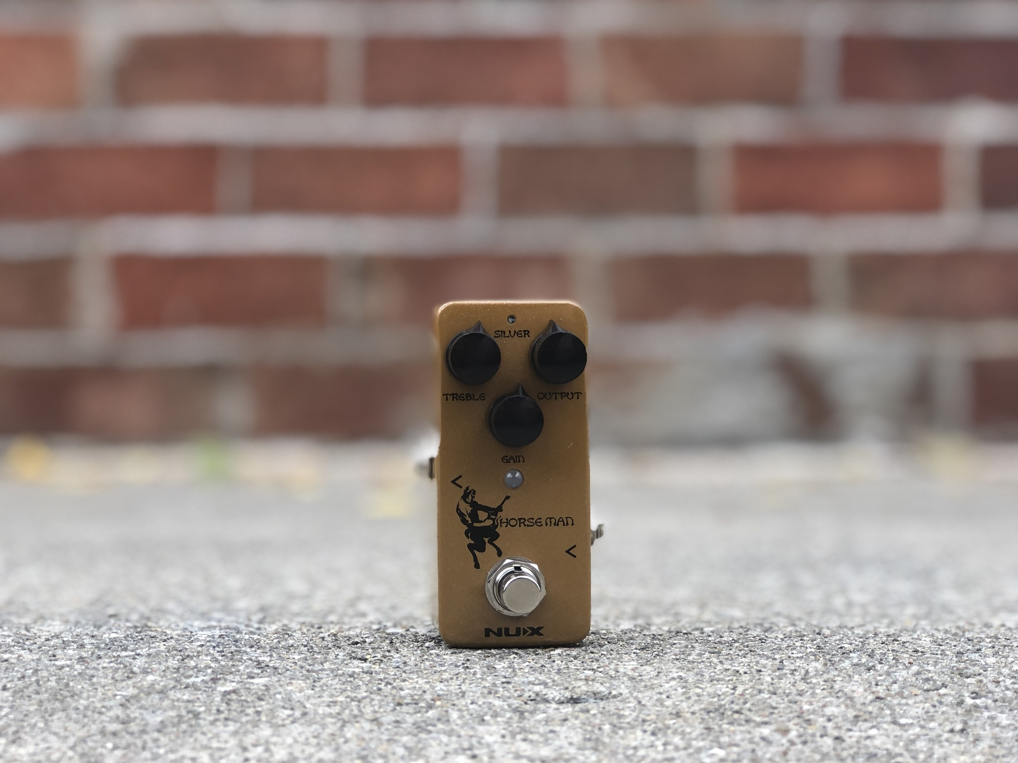 Nux Horseman Overdrive Used-1