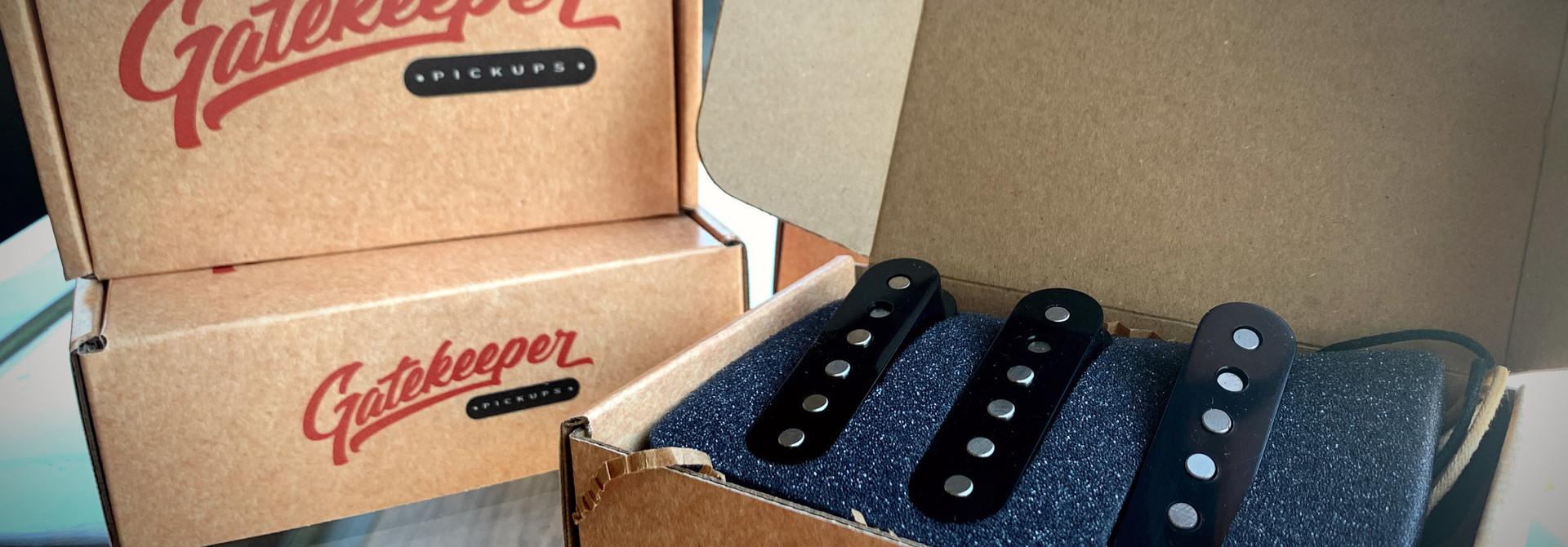 Gatekeeper Pickups Stratocaster Set of 2 - GKP-S