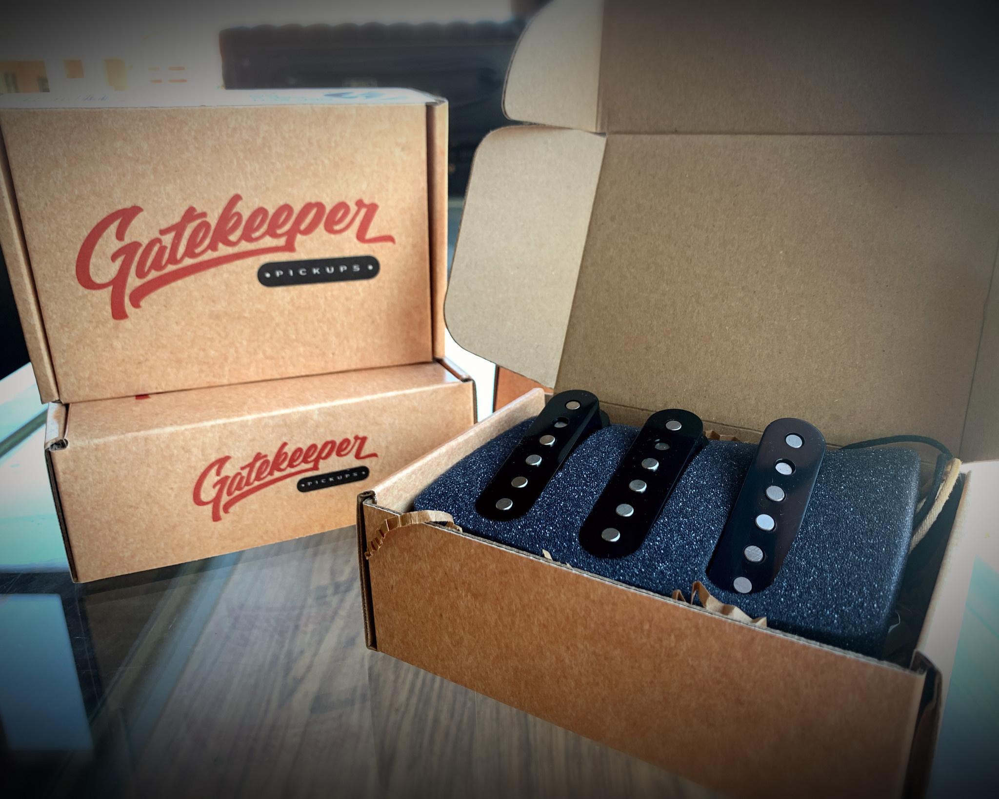 Gatekeeper Pickups Stratocaster Set of 2 - GKP-S-1