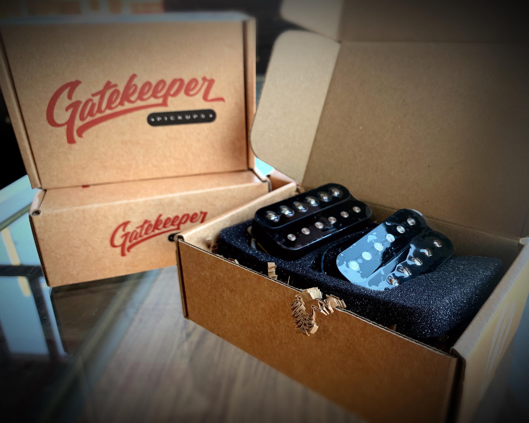 Gatekeeper Pickups Humbucker Set - GKP-SCH-1