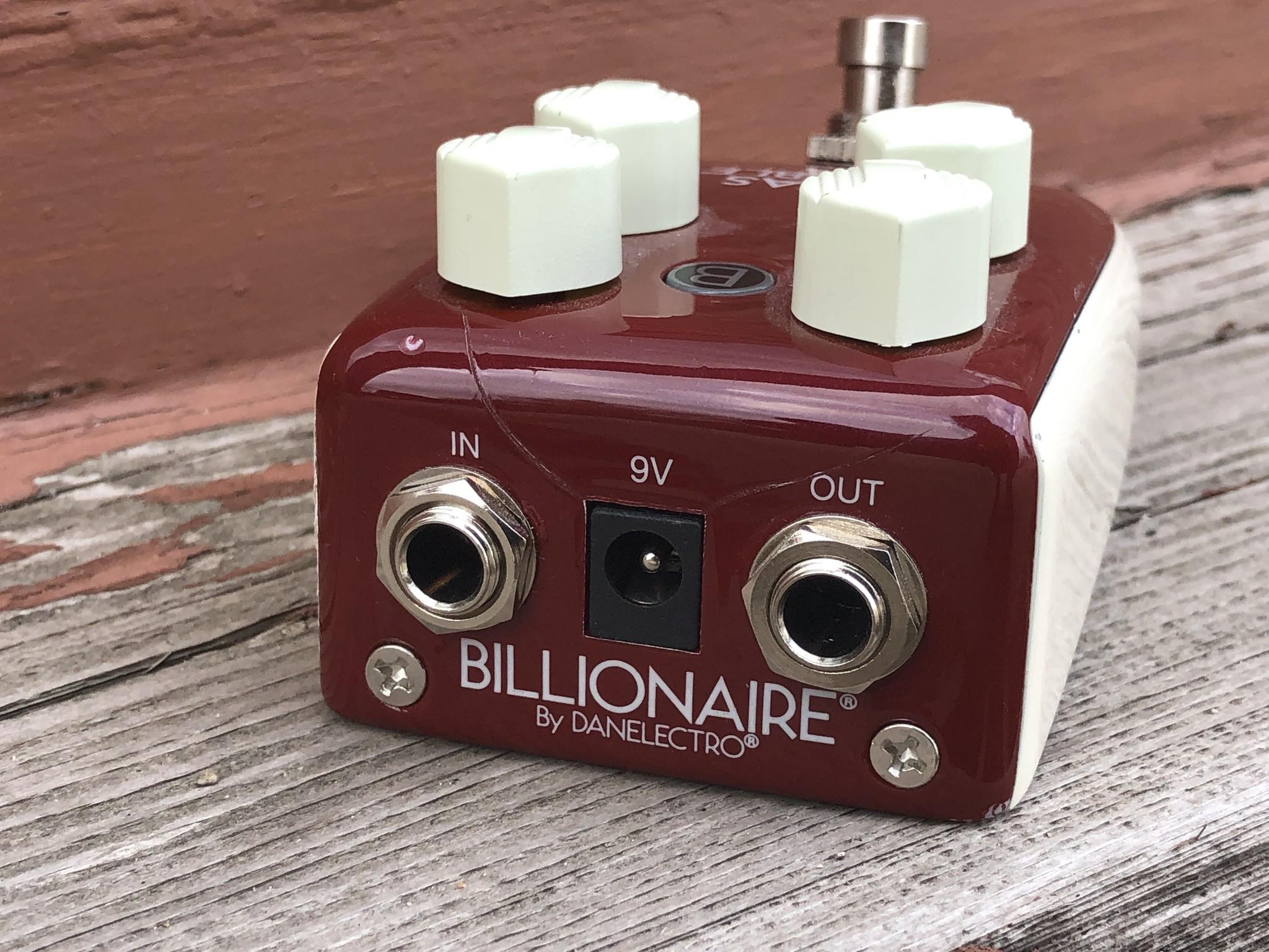 Danelectro Billionaire  Texas Trouble Overdrive-4