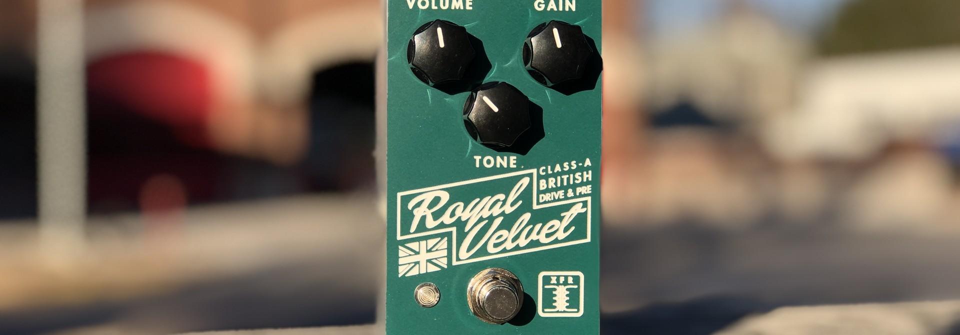 Greer Amps Royal Velvet Drive & Pre-Amp