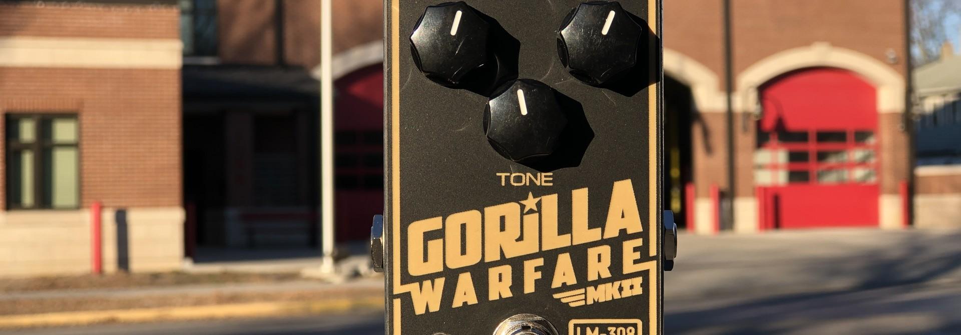 Greer Amps Gorilla Warfare MKII Fuzz (LM308)