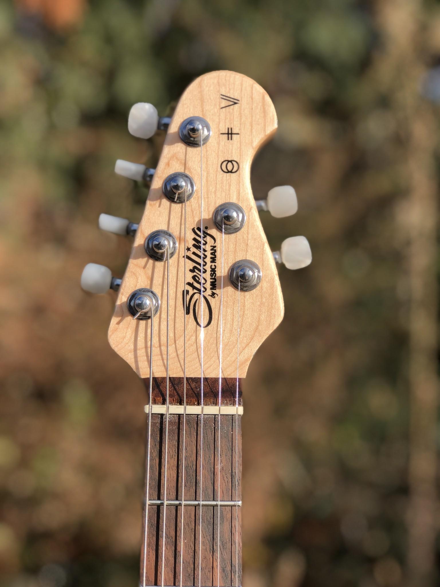 Sterling by Music Man St. Vincent w/ ProRockGear Rect. Bass Case-8