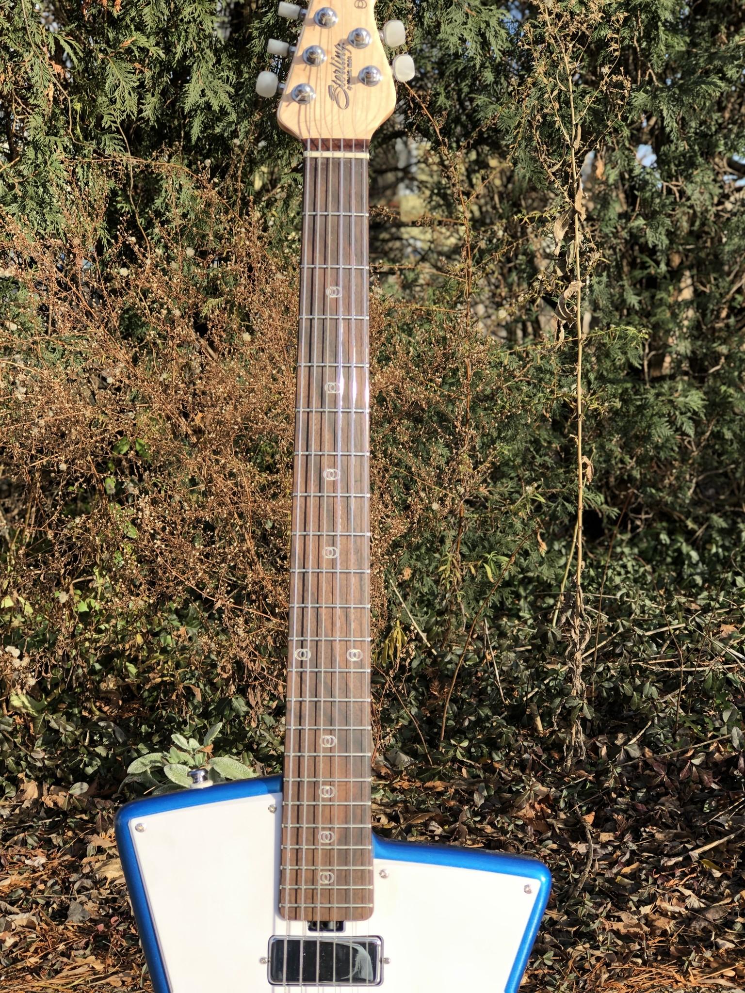 Sterling by Music Man St. Vincent w/ ProRockGear Rect. Bass Case-7