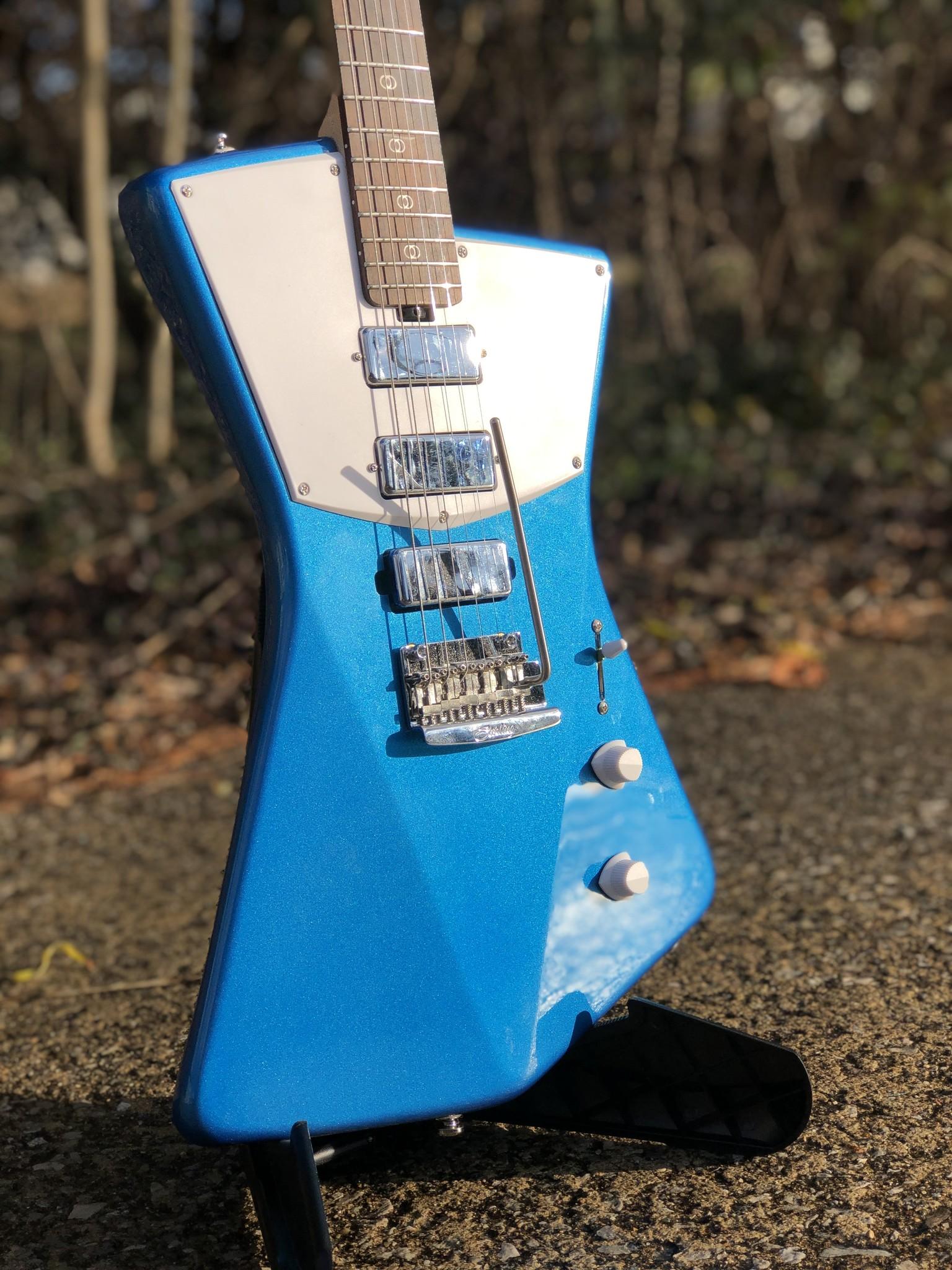 Sterling by Music Man St. Vincent w/ ProRockGear Rect. Bass Case-2