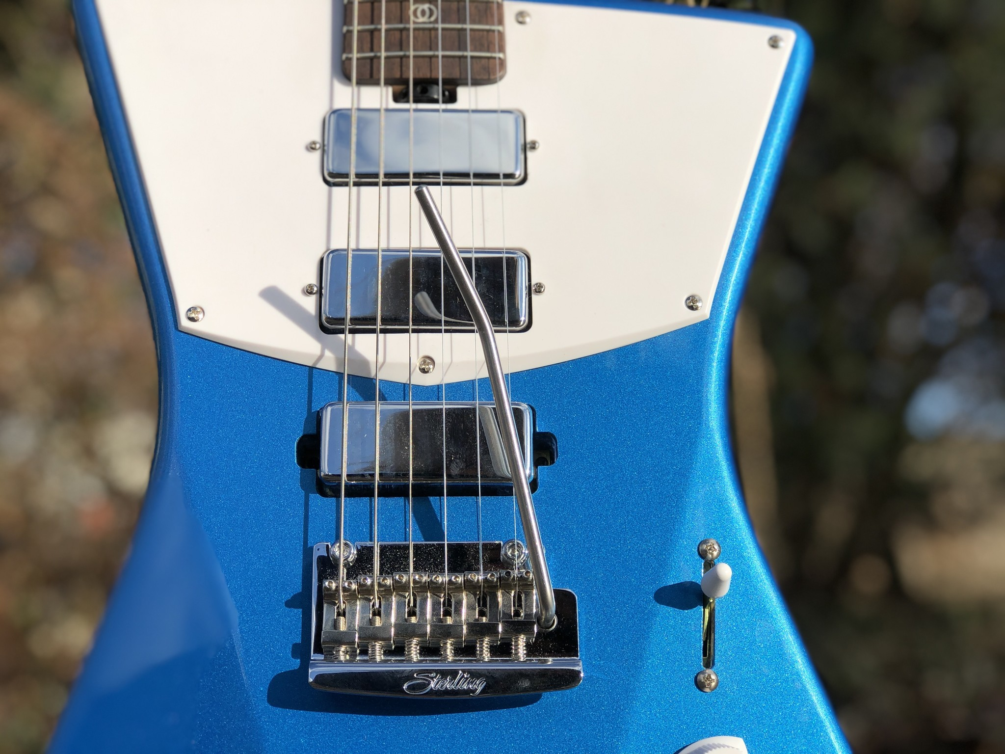 Sterling by Music Man St. Vincent w/ ProRockGear Rect. Bass Case-3
