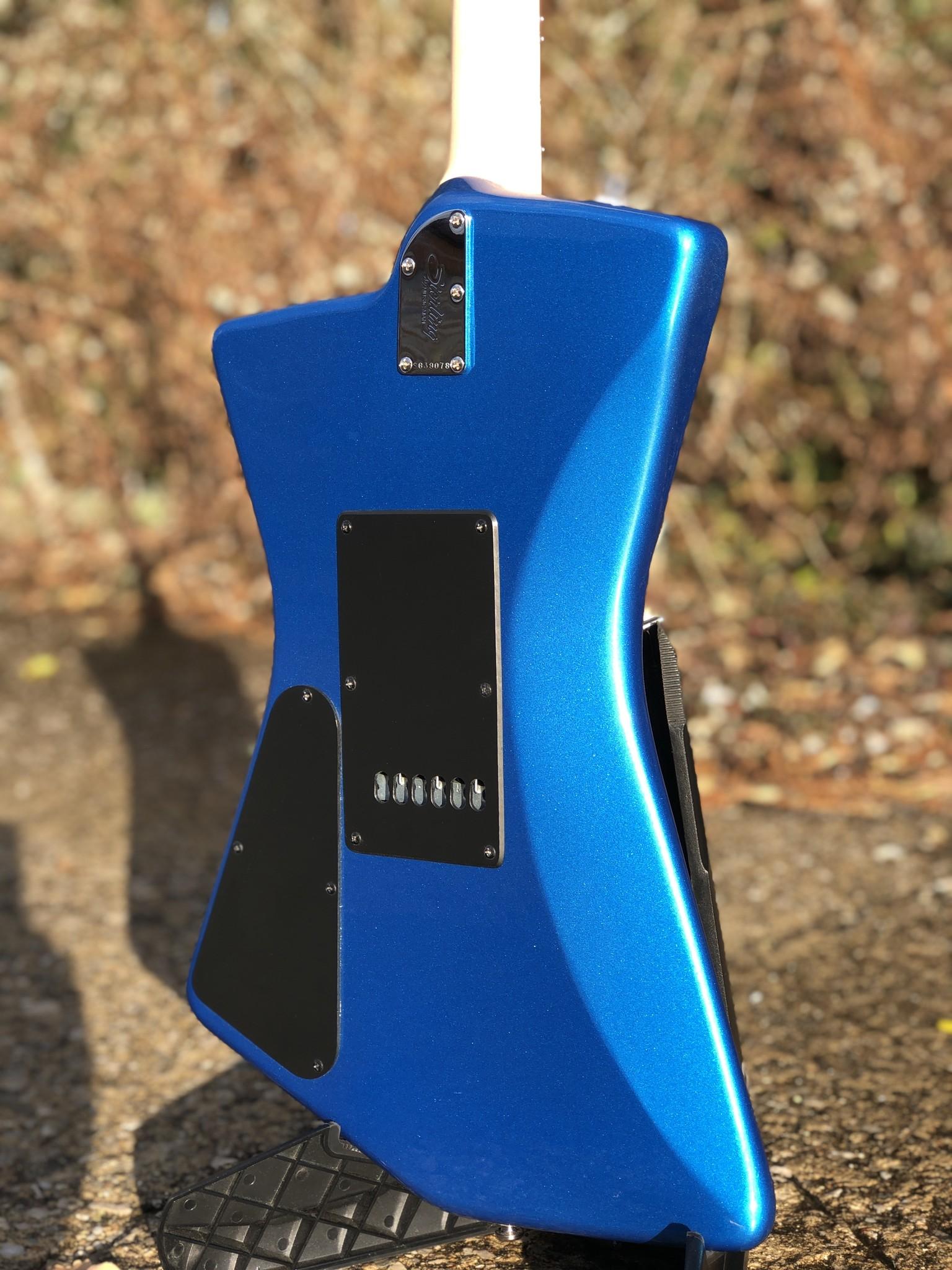 Sterling by Music Man St. Vincent w/ ProRockGear Rect. Bass Case-10