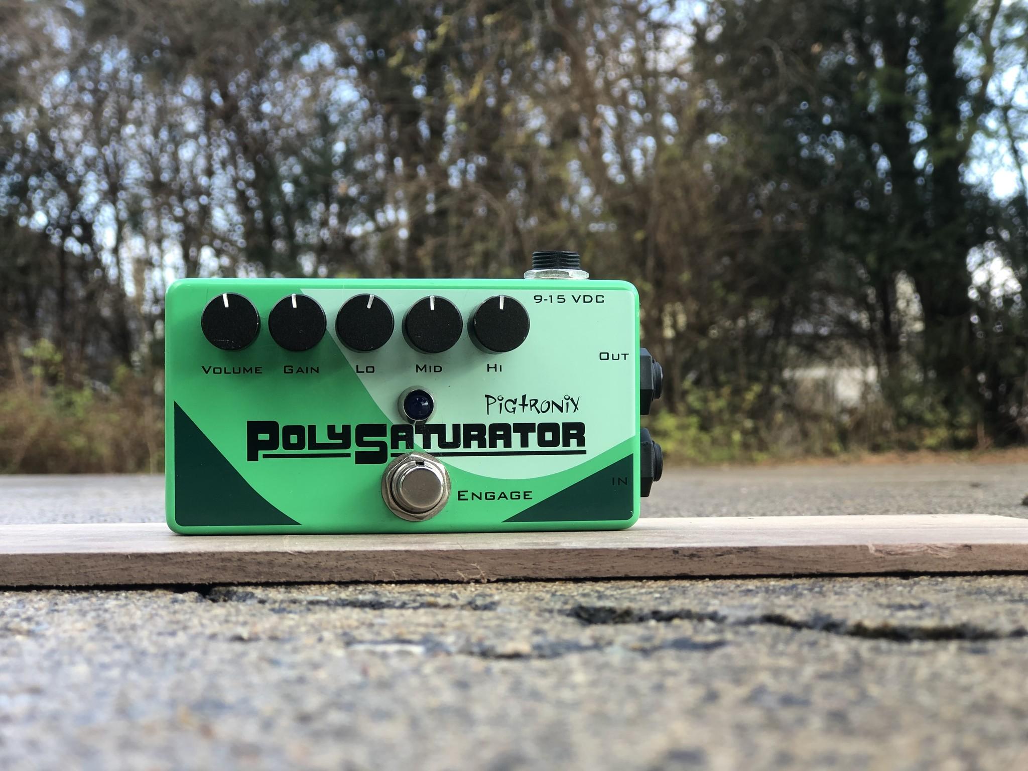 Pigtronix PolySaturator Distortion Pedal-1