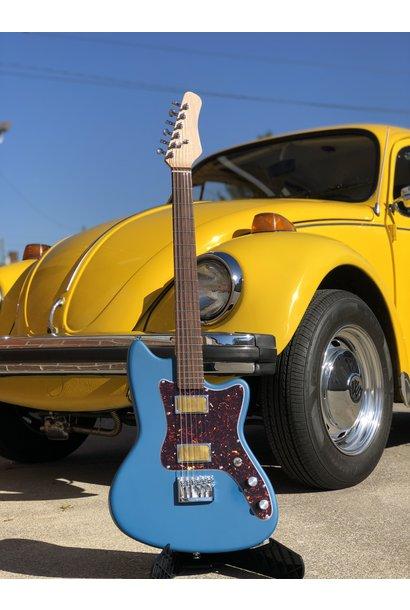 Bula Custom Guitars - Astro  - Satin Placid Blue