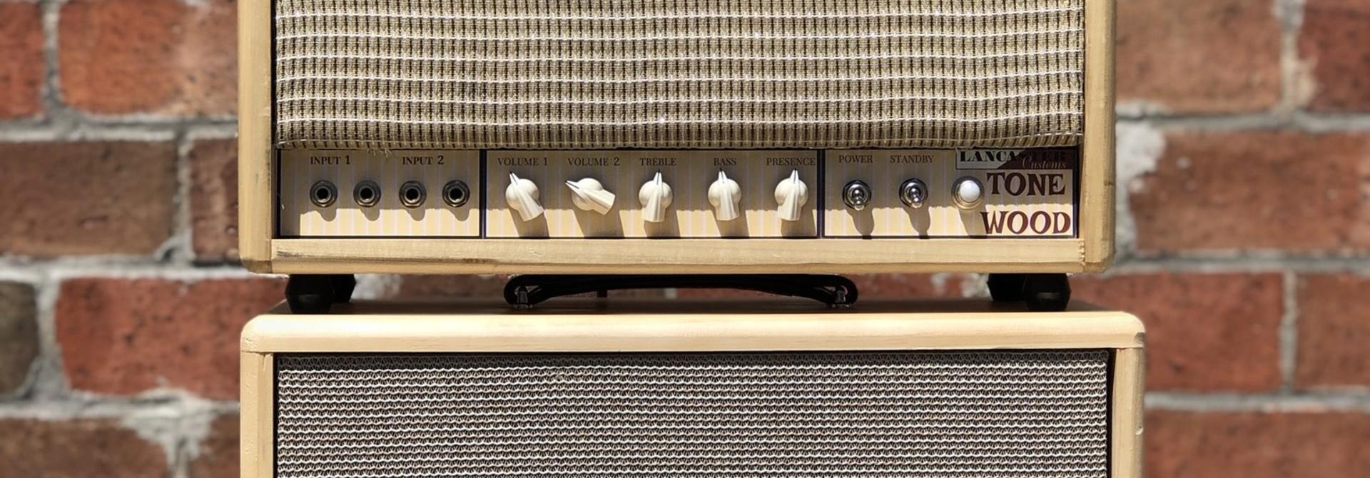 Lancaster Customs Tone Wood Head and 1x12 Cab