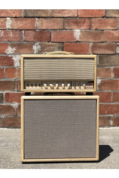 Lancaster Customs Tone Wood Head and 1x12 Cab