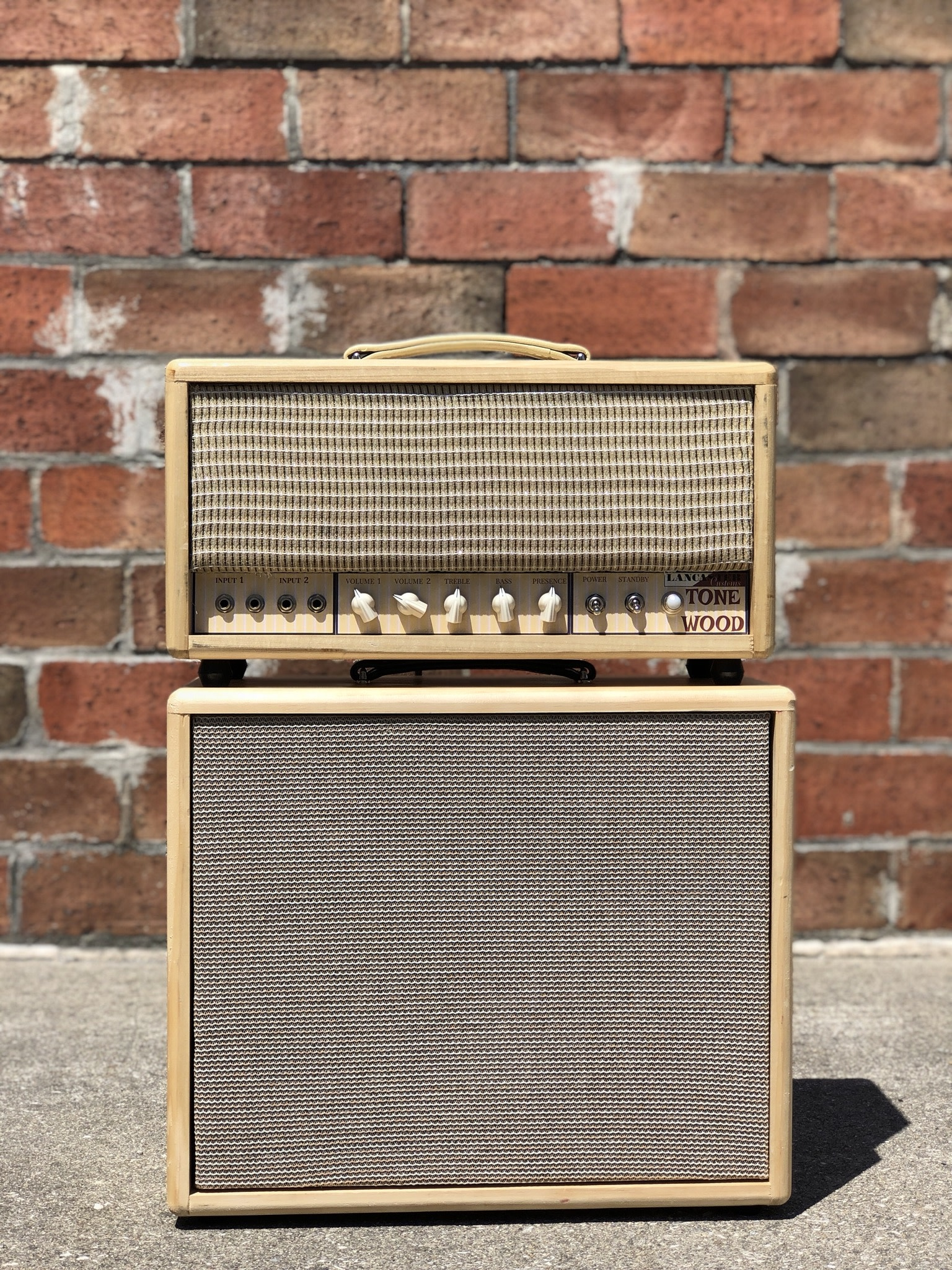 Lancaster Customs Tone Wood Head and 1x12 Cab-1