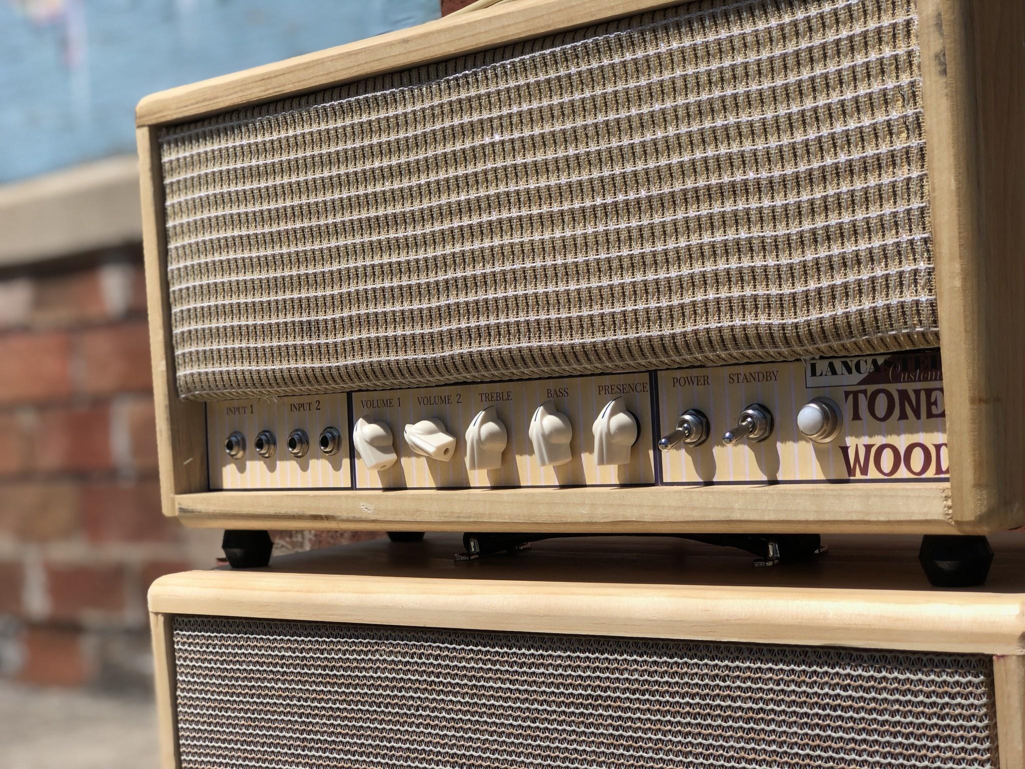Lancaster Customs Tone Wood Head and 1x12 Cab-4