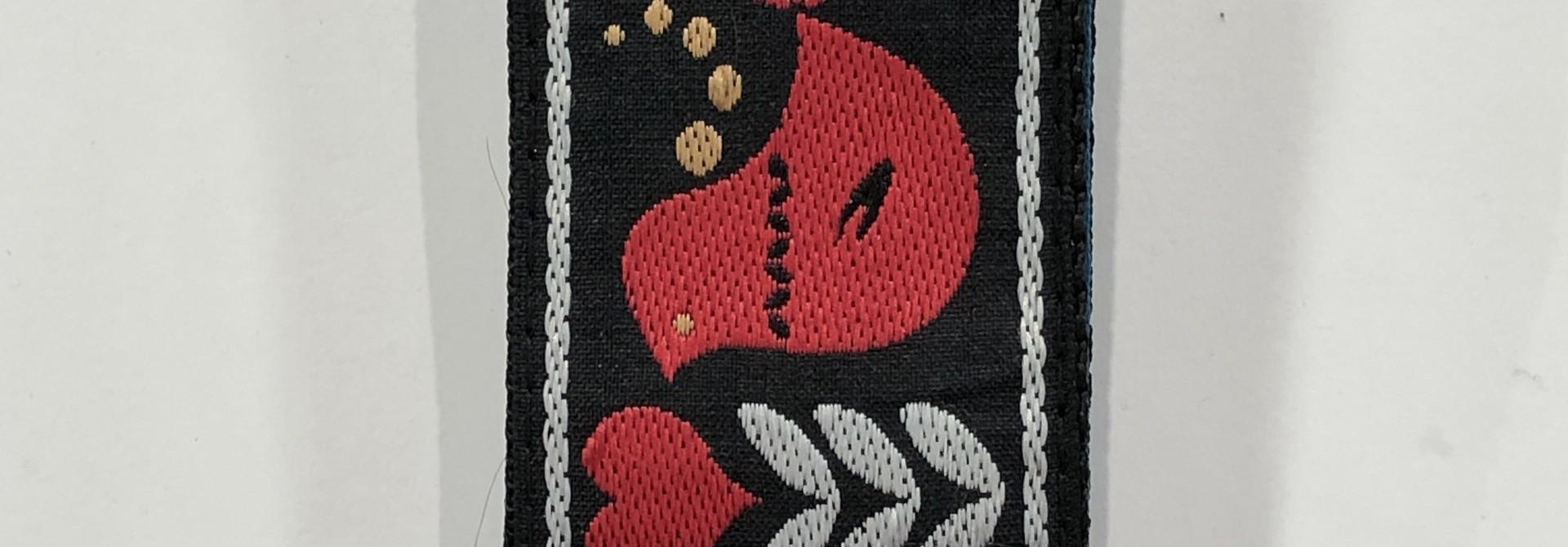 Redbird Rising Jacquard Strap P04667