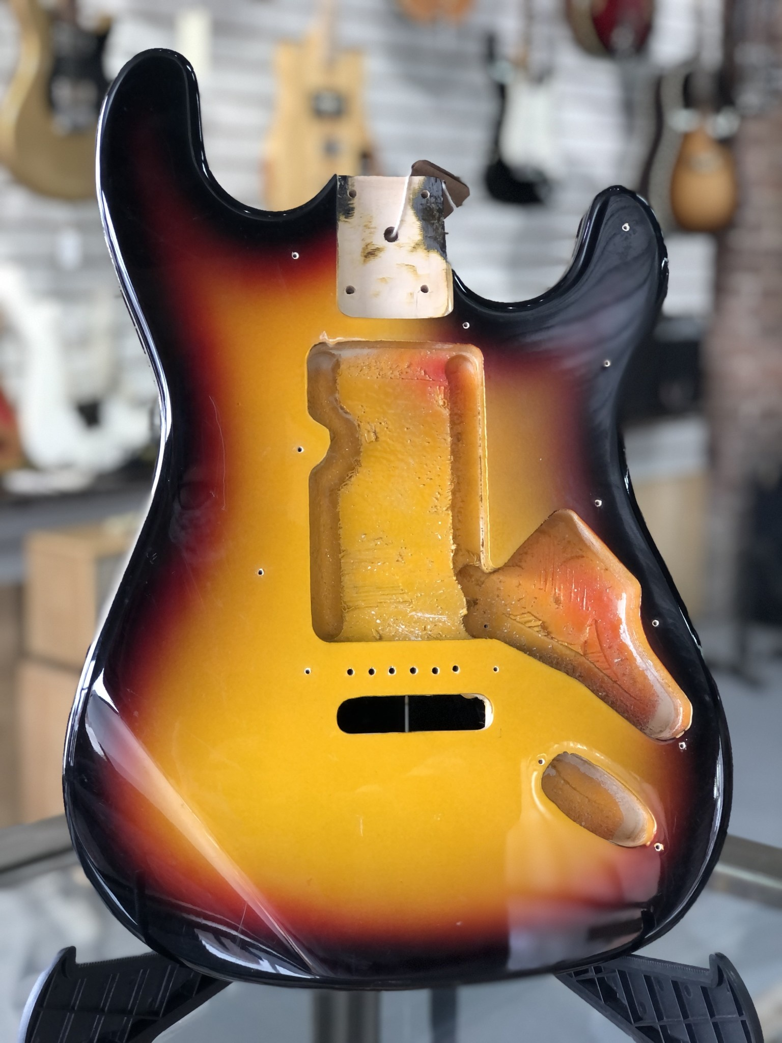 Sunburst Stratocaster Body-1