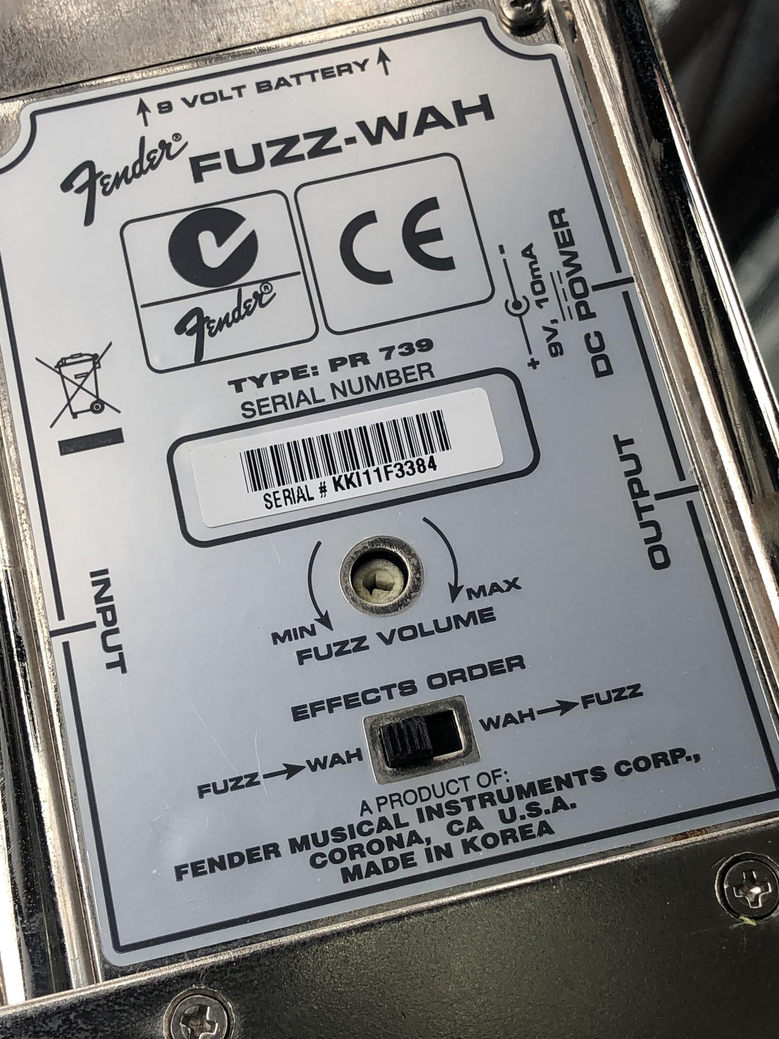 Fender Fuzz Wah Reissue-7