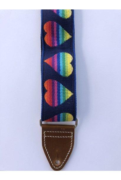 Tremolo Leather Co. Love Is Love Strap