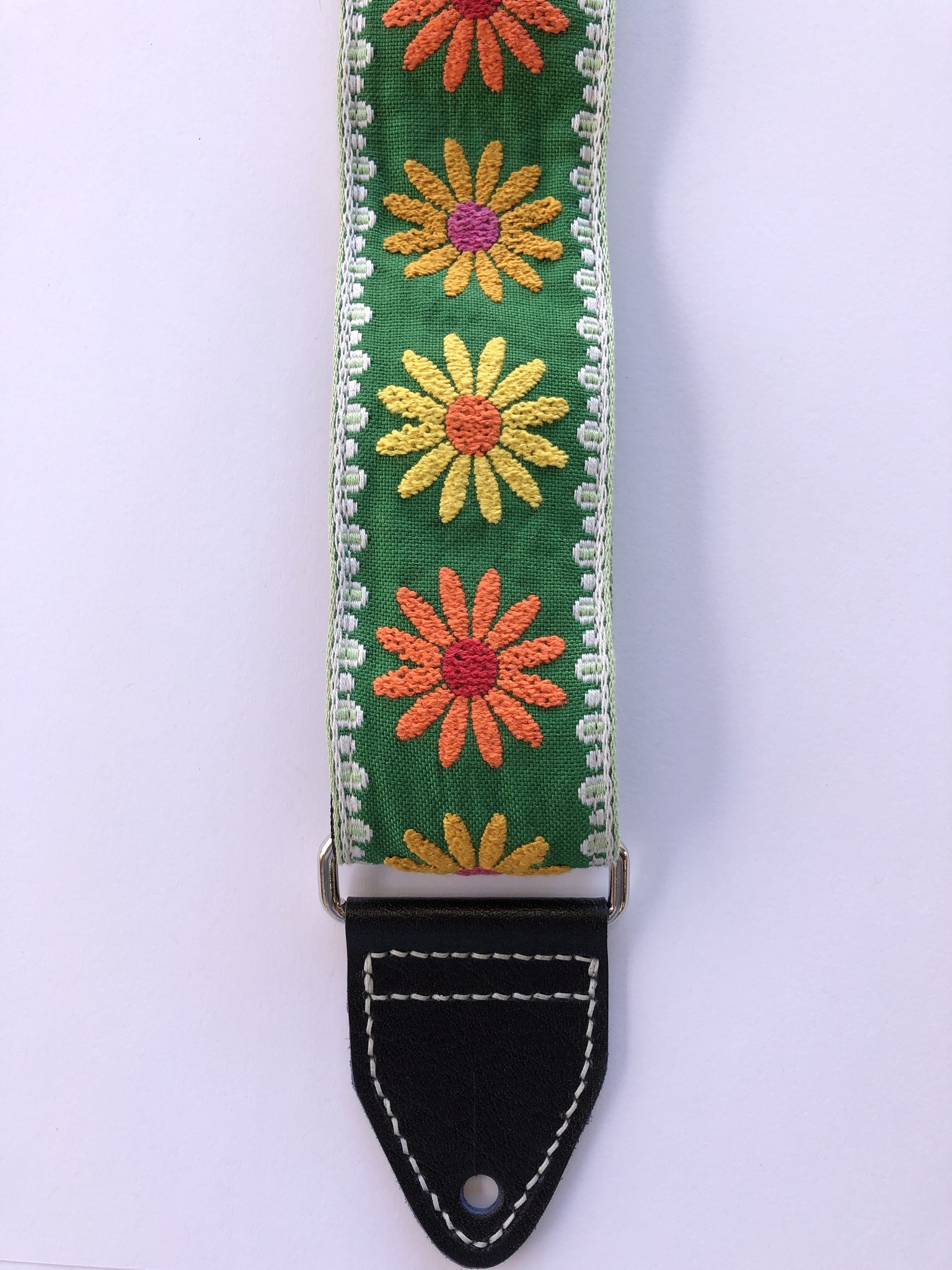 Tremolo Leather Co Daisy Strap-1