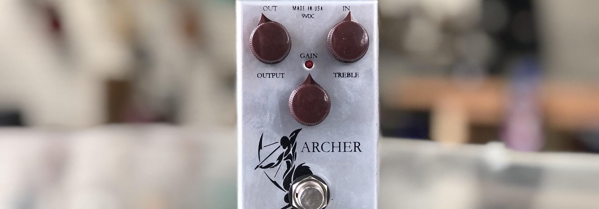 J. Rockett Audio Designs Archer Silver OD/Boost