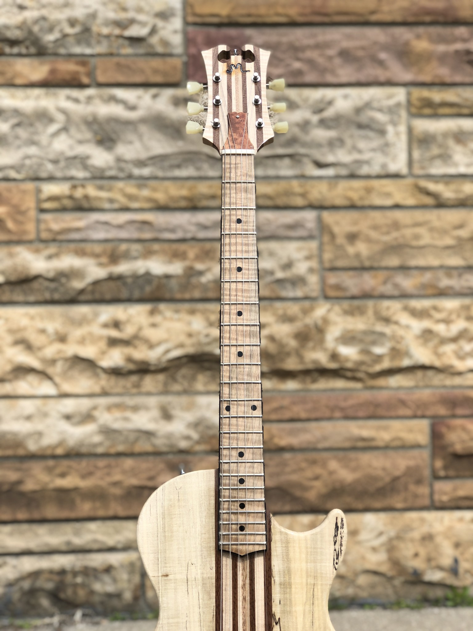2021 Neck Through JML Single Cutaway-4