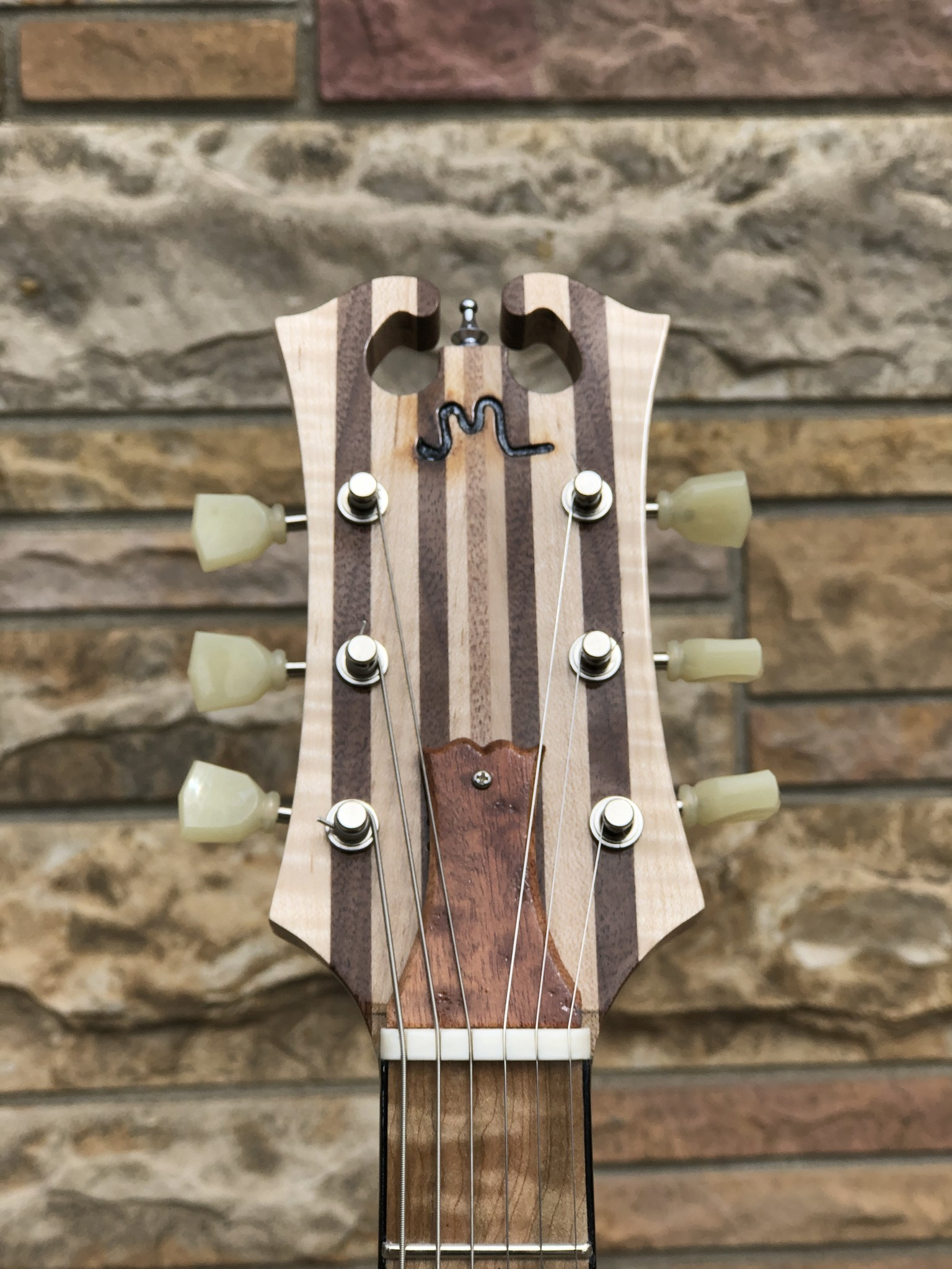 2021 Neck Through JML Single Cutaway-5