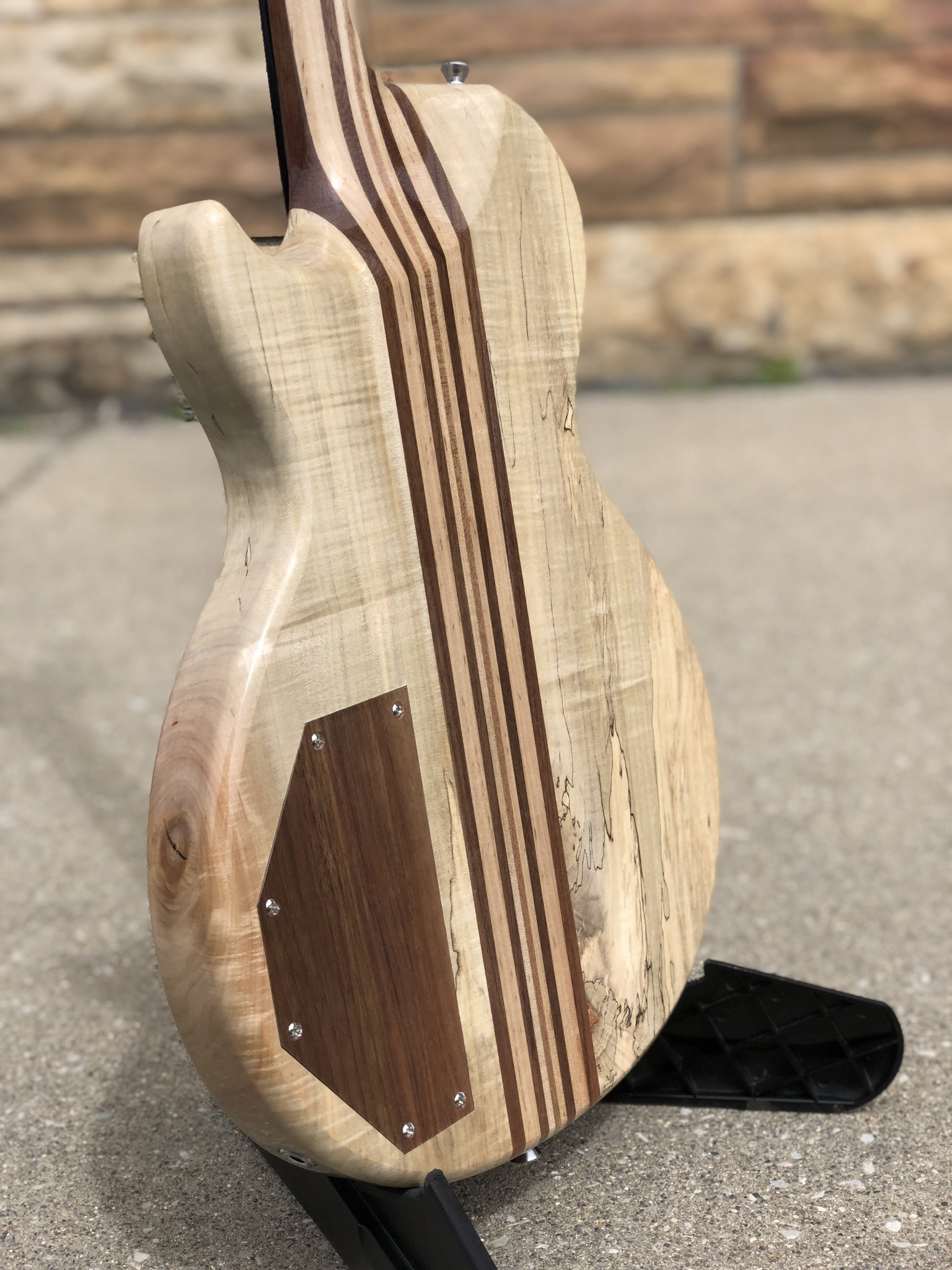 2021 Neck Through JML Single Cutaway-8