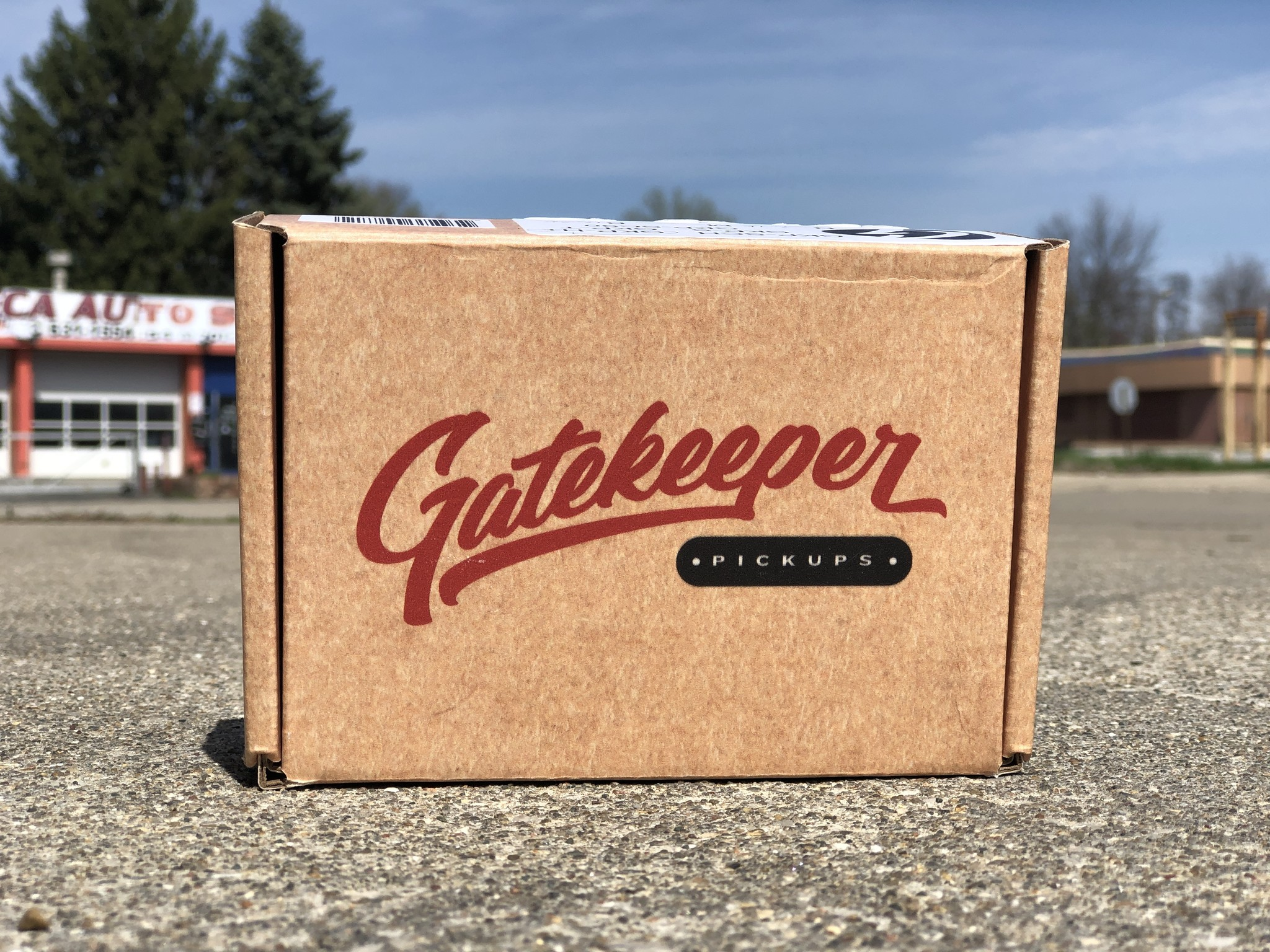 Gatekeeper Humbucker + Bridge PUP-3