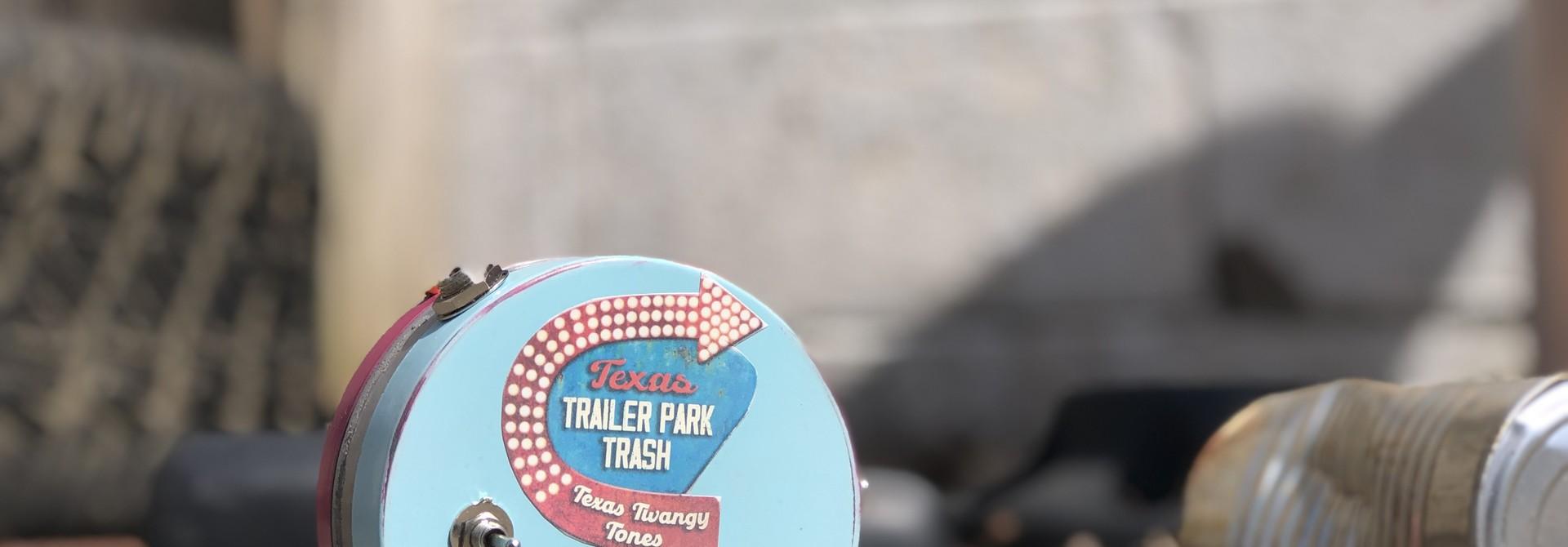 "Rick Crownover Texas Trailer Park Trash  - Russian Germanium ""Range Master"" clone."