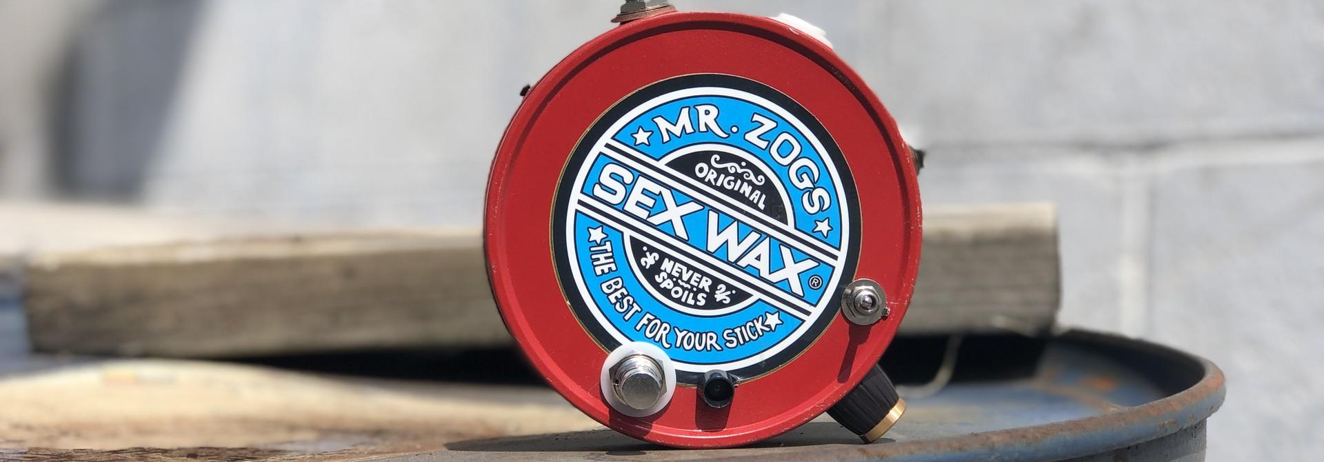 Rick Crownover Sex Wax Fuzz 2 Stage Darlington Bass Fuzz