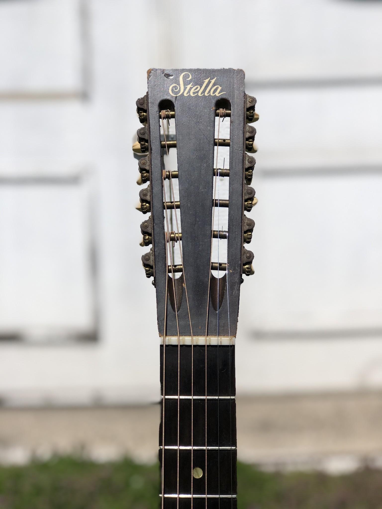 1960s Stella 12-string (strung up for 6 string) 7164 H922-6
