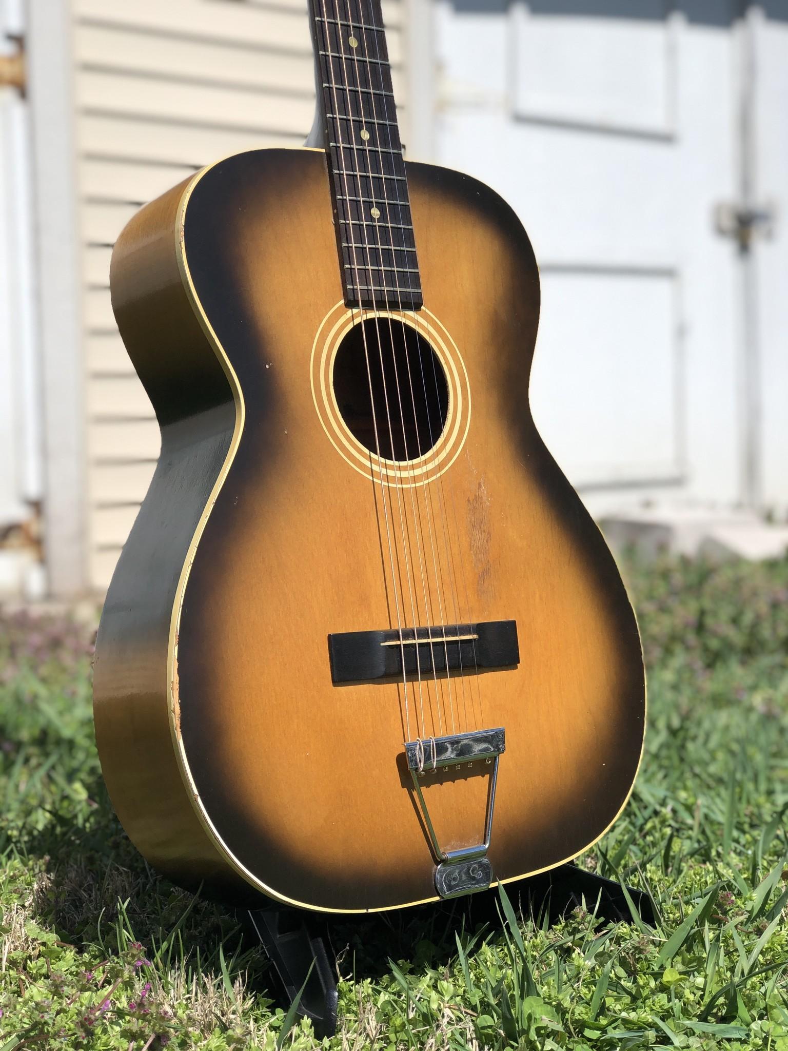 1960s Stella 12-string (strung up for 6 string) 7164 H922-2