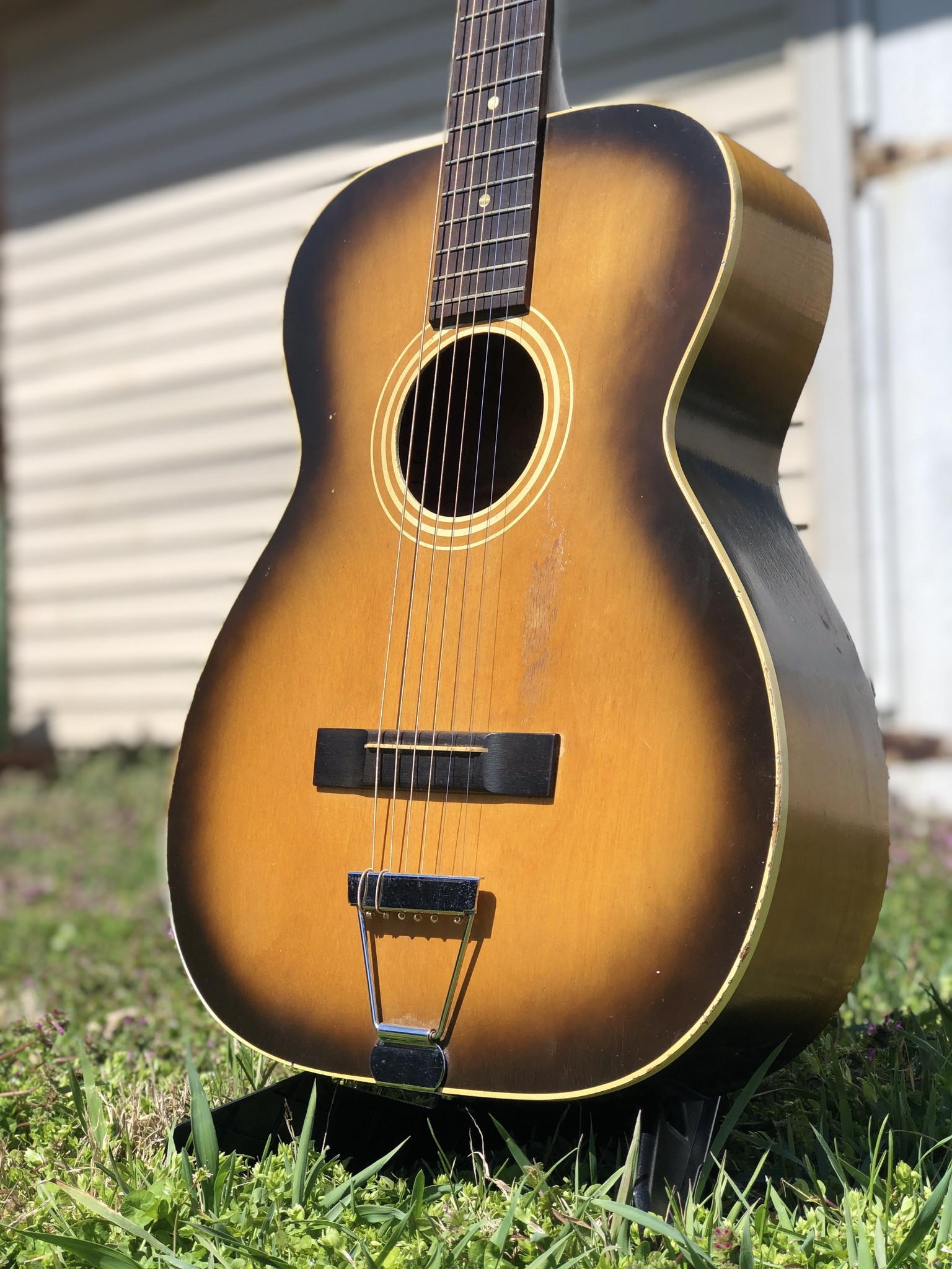 1960s Stella 12-string (strung up for 6 string) 7164 H922-3