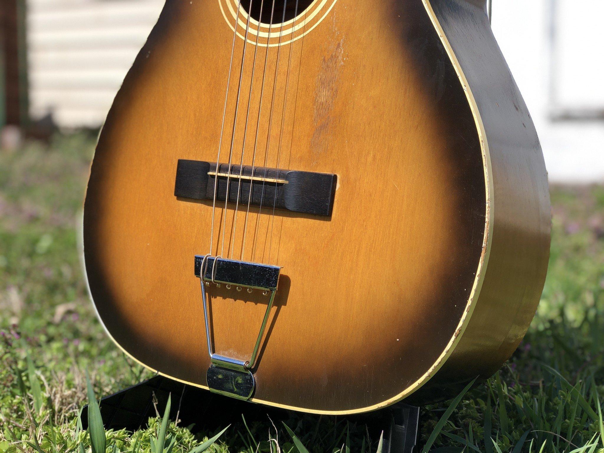 1960s Stella 12-string (strung up for 6 string) 7164 H922-4