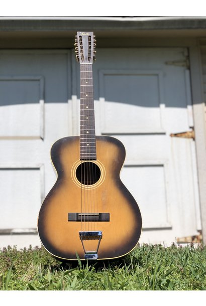 1960s Stella 12-string (strung up for 6 string) 7164 H922