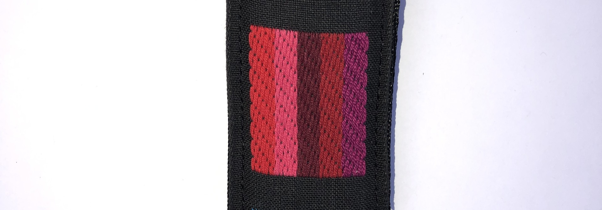 Tremolo Leather Co. Abstract Color Bars Strap