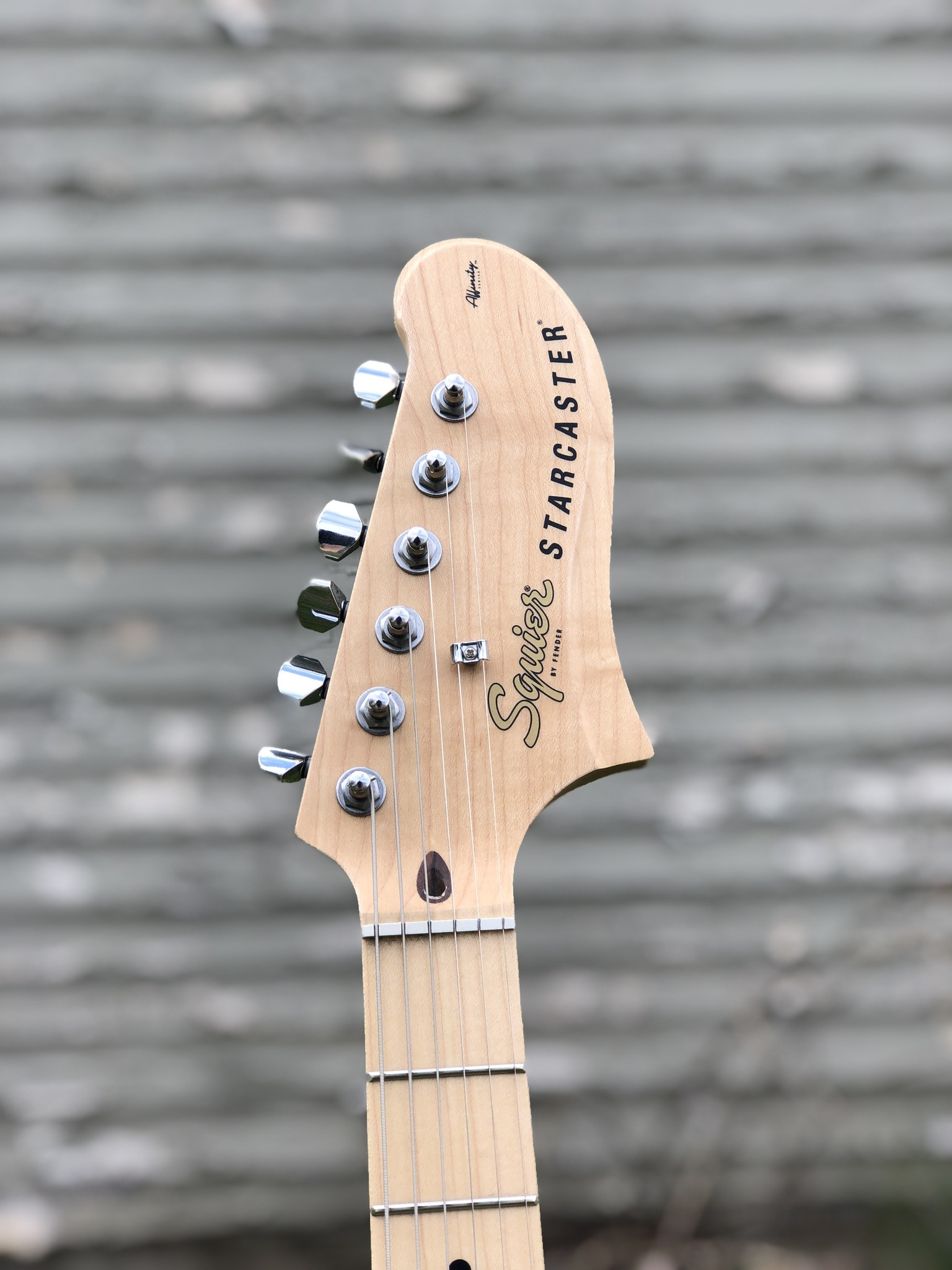 Squier Affinity Starcaster w/ Filtertron Pickups-6