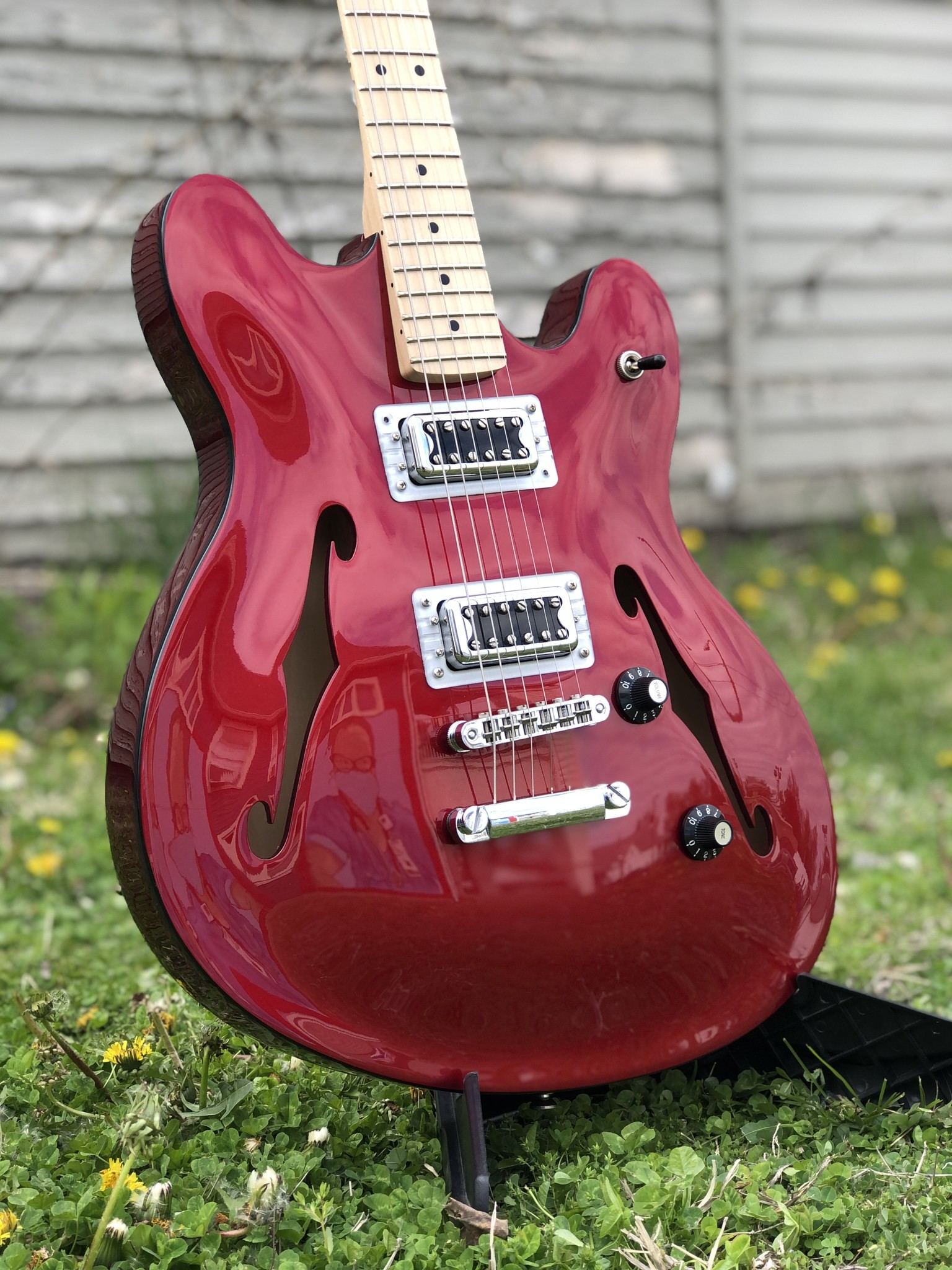 Squier Affinity Starcaster w/ Filtertron Pickups-2