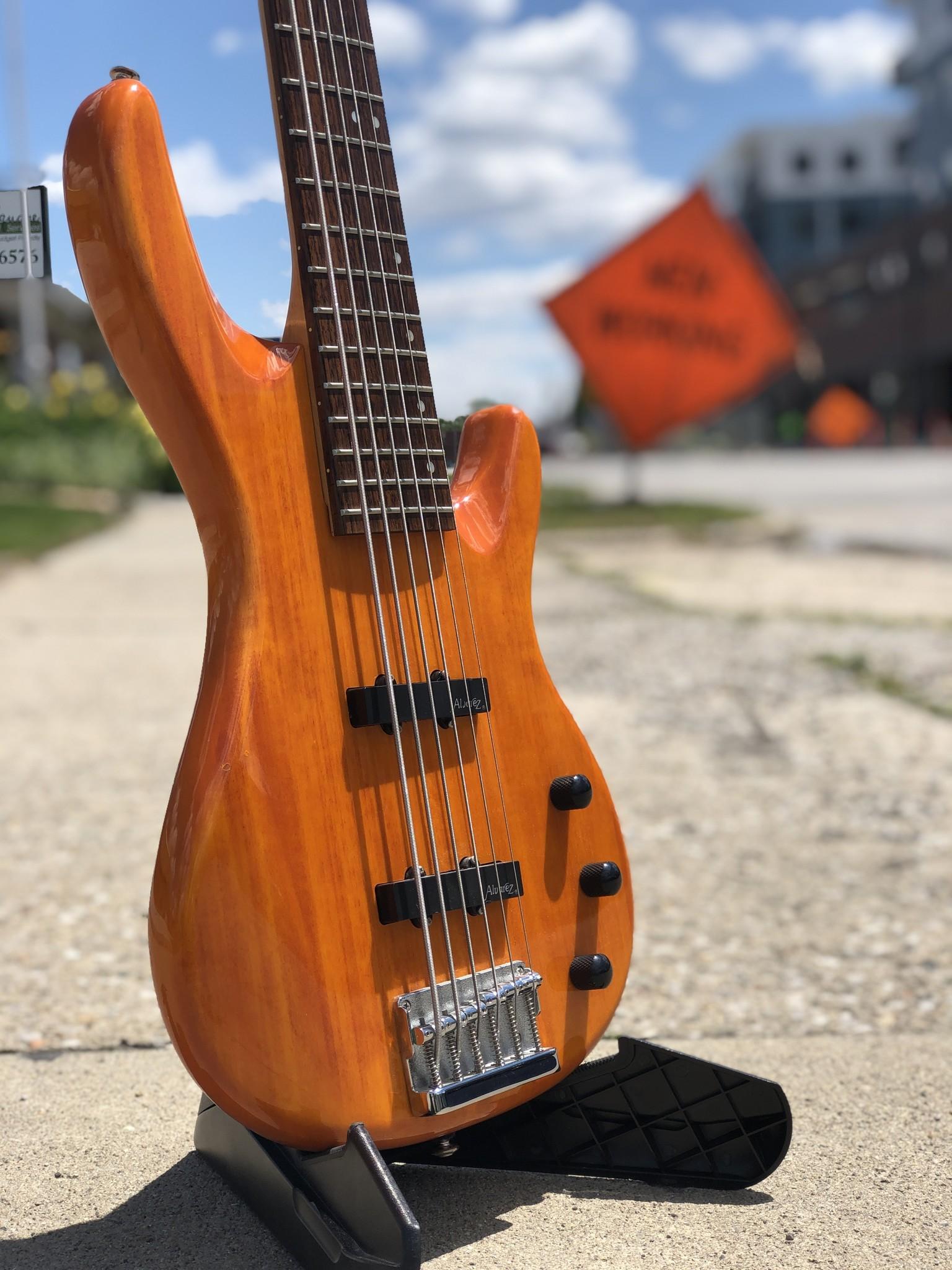 Alvarez 6-String Bass-2