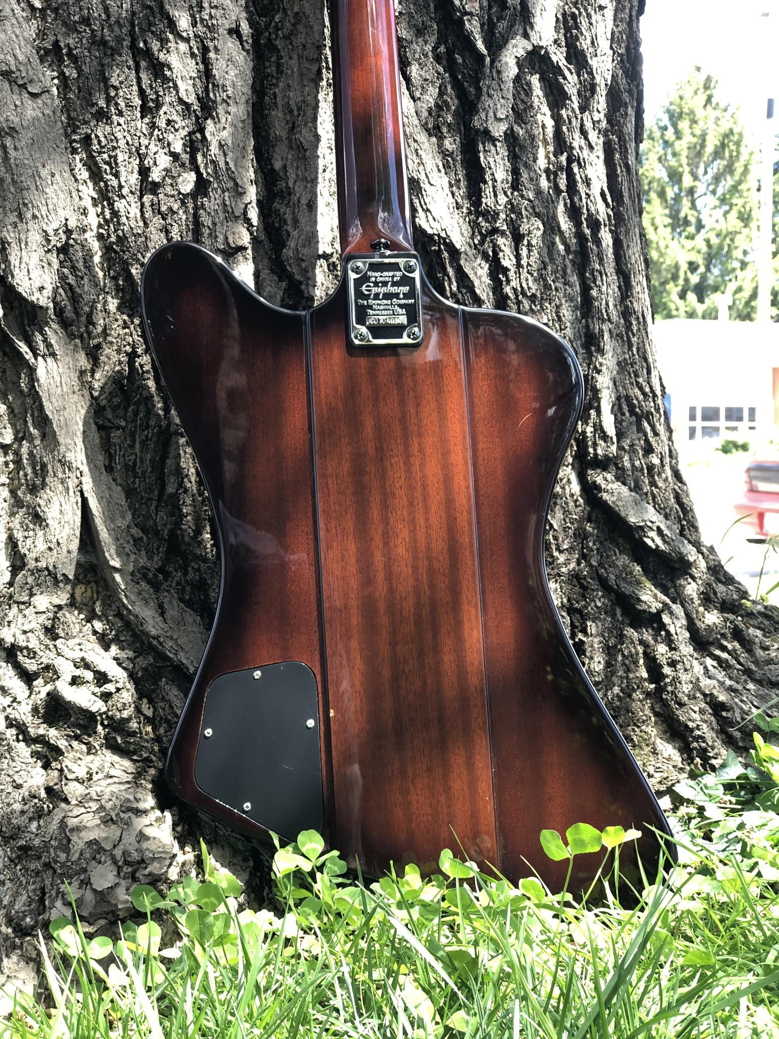 "Epiphone Thunderbird Bass ""The Pecker"" w/ EMG pickups-7"